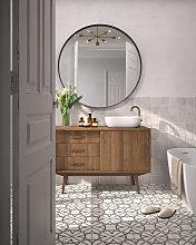 Espejo redondo con marco 60cm