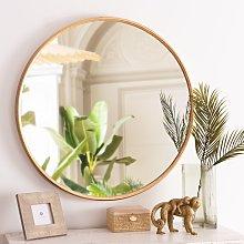 Espejo redondo dorado D.81