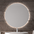 Espejo Tenerife de Eurobath de luz led 60ø cm