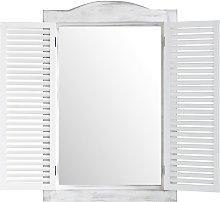 Espejo ventana blanca 47x71