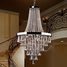Espléndida lámpara de araña Palace de cristal