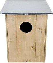 Esschert - Casa para pájaros, Color marrón