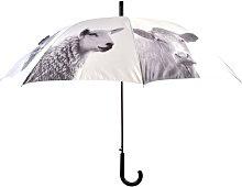 Esschert Design Paraguas con estampado de animales