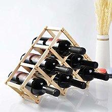 Estante de exhibición de Vino, encimera de