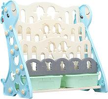 Estante para niños de 3/4 niveles, estantería