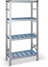 Estantería con 4 estantes de plástico 325B40895