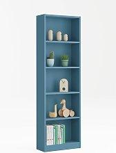 Estantería -Infantil- Azul 52x180x25 cm