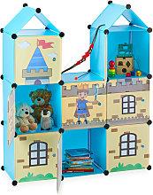 Estantería infantil, Castillo feudal, Plástico,