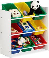 Estantería infantil con cajas, Almacenaje de