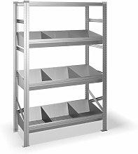 Estantería metálica con 4 estantes 325B41978