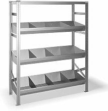 Estantería metálica con 4 estantes 325B41982