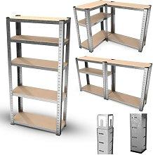 Estantería modular de almacenamiento de metal -