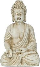 Estatua Buda, Resistente Intemperie y Heladas,