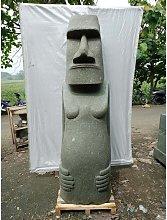 Estatua de jardín zen moai de Isla de Pascua en