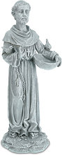 Estatua San Francisco de Asís con Comedero para