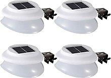 ESTEAR 9 LED Negro luz Solar Exterior, lámpara