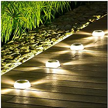 ESTEAR Luces Solares De Suelo para Exteriores,