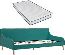 Estructura sofá cama y colchón espuma