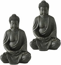 Etc-shop - Conjunto de 2 figuras de resina