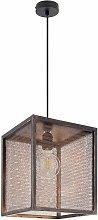 Etc-shop - Lámpara colgante de trenza de cobre