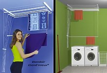 ETEND'MIEUX - Tendedero para techo ,6 barras,