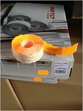 Etiqueta Adhesiva 26X16Cm Troquelada Naranja