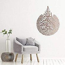 Etiqueta engomada del espejo de la pared del hogar
