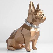 EU-NING Francés bulldog banco caja alcancía