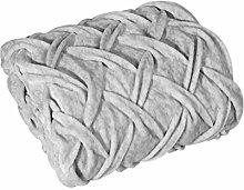 Eurofirany – Manta de Plata mullida, Muy Suave,