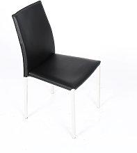Eurosilla - Silla modelo Sidney, color negro -