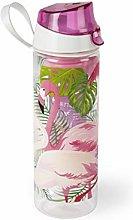 Excelsa Tropical Botella con Infusor, Rosa, 750 ml