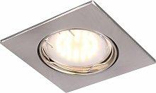 Exquisito 5W foco de LED de aluminio lámpara del