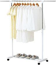 Extraible estante de la ropa de los Rolling ropa