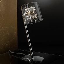 Extravagante lámpara de mesa LED Flash