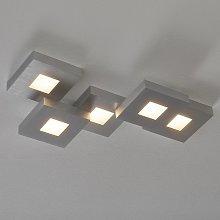 Extravagante lámpara de techo LED Cubus