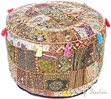 Eyes of India - 22 X 12 Multicolor Patchwork