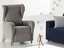 Eysa - Funda sillón Angelo Relax Color Gris C06