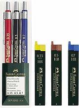Faber-Castell 130622 TK-FINE Juego de portaminas