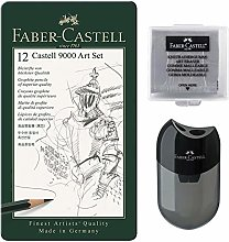 Faber-Castell Castell 9000 - Juego de 12 lápices