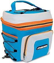 Faboss - Bolsa Nevera Azul y Naranja, 8 litros, 23