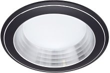 Fabrilamp - Foco Empotrable Corfu Negro 5w 6500k