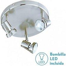 Fabrilamp - Plafon Foco De 3l. Gu10 50w (13x27x27)