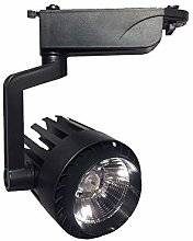FactorLED Foco LED 30W NEGRO para Carril