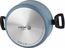 Fagor 78550 Olla Maxima+Tapa Aluminio, Azul, D 24