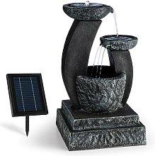 Fantaghiro Fuente ornamental Fuente de jardín 3W