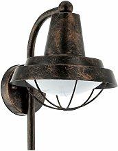 Farol de pared para exteriores vintage, lámpara