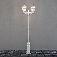 Farola Firenze, 2 luces, blanco