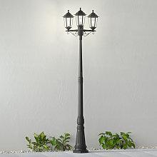 Farola Nane en forma de farol, 3 luces