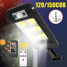 Farola solar PIR + Sensor de movimiento Inducción
