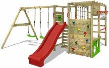 FATMOOSE Parque infantil de madera ActionArena con